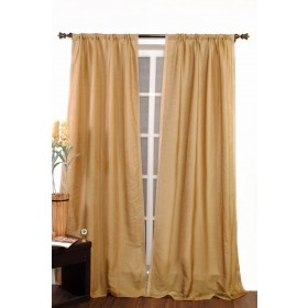 Curtain Rohini Black Beige 9ft