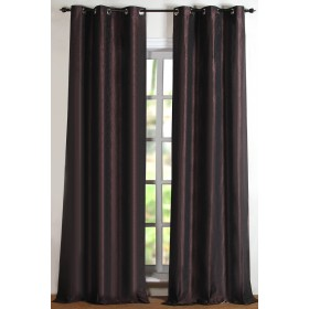 Curtain Solid Hungama Chocolate 9ft