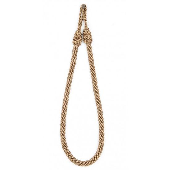 """Rope 4ply 24"""" Tieback Tonal Brown"""