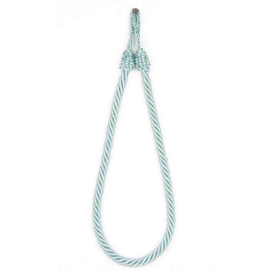 """Rope 4ply 24"""" Tieback Green Blue Mix"""