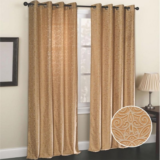 Curtain Celestial (Set of 2) Beige