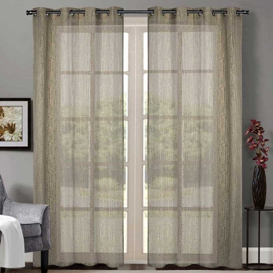 "Curtain Sheer Yogyata 90"""