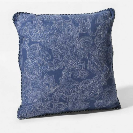 """Cushion Cover Paisely Uni Embroidery 16""""X16"""""""