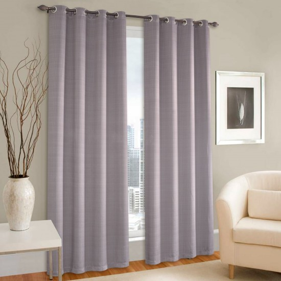 7.5 ft Zigy Patina Printed Blackout Curtains Set of 2