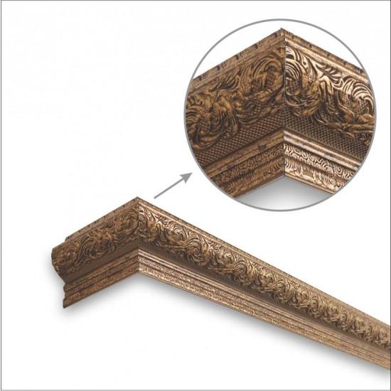 Window Pelmets Scroll Copper