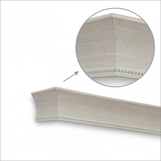 Window Pelmets Stud Cedar White