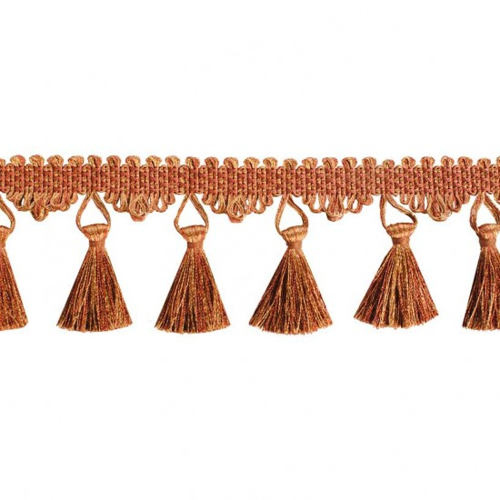 Swirl Tassel Regular Gold beige/Rust
