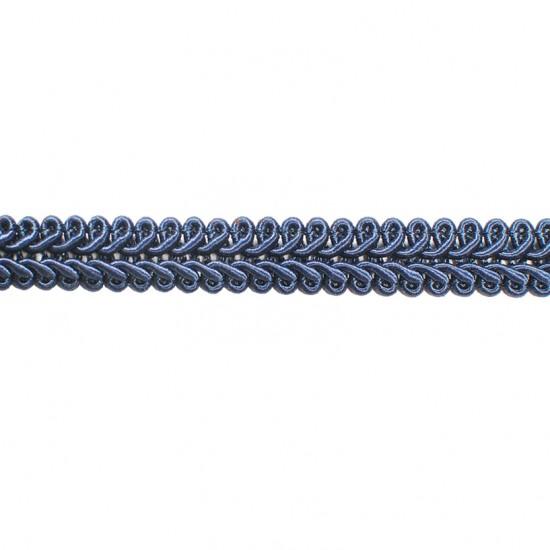 "Swirl Gimp  3/8"" Navy"