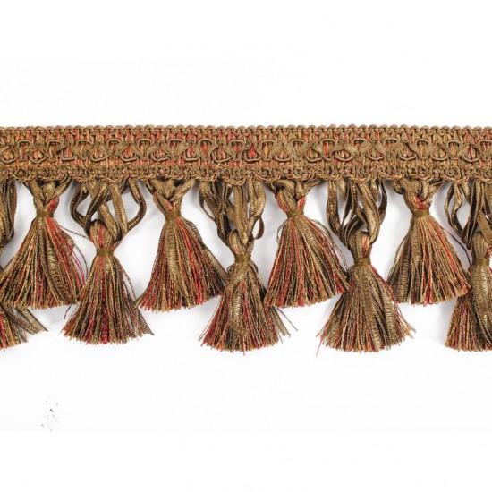 Gazal Tassel Ribbon 10cm Tuscany Mix (Trims
