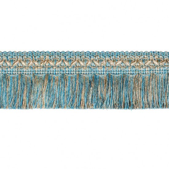 Gazal Brush Ribbon Turquoise Mix (Trims)