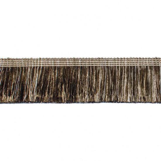 Tabla Brush Ribbon 6.8 cm Dark Beige Mix