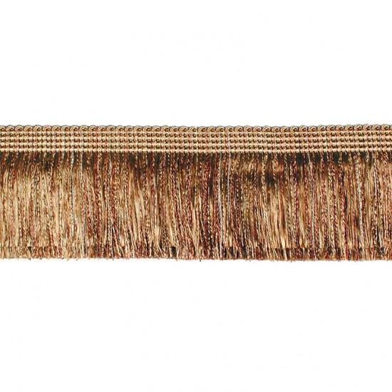 Tabla Brush Ribbon 6.8 cm Rust Earth Tone