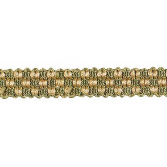 Mosaic Gimp  0.5 inch Beige Sage