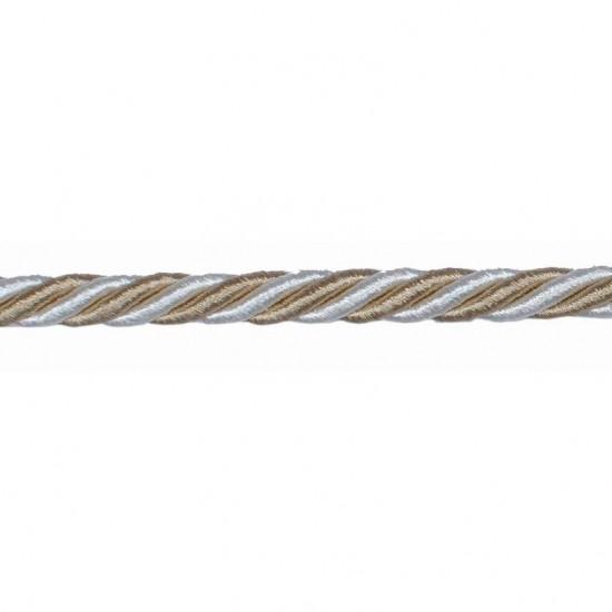 Mosaic Cord 8mm Beige Mix