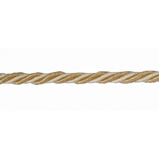 Mosaic Cord 5mm Gold Mix
