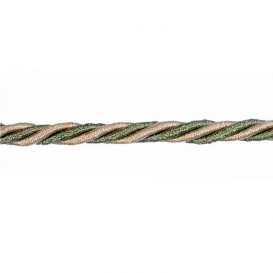 Mosaic Cord 5mm Beige Sage