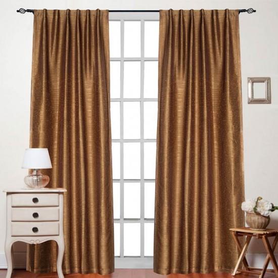 "Curtain Rohini 108"" Dark Gold"