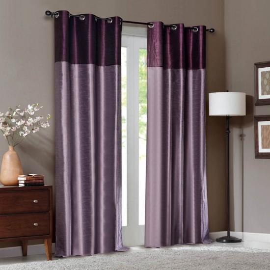 "Curtain Tripti Grape Wine Mix 108"""