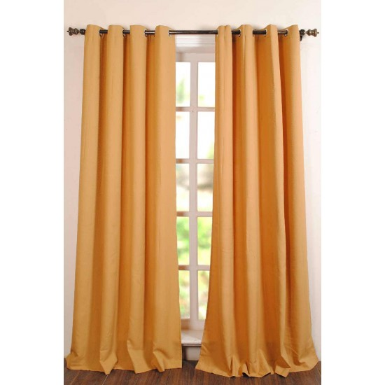 Curtain Poly Wave Gold 8ft