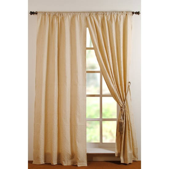 Curtain Suhasi Champagne 8ft