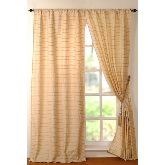Curtain Jute Cord Champagne 8ft