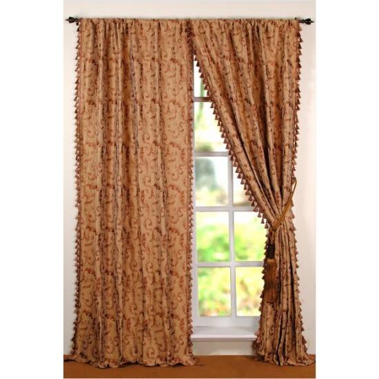 """Curtain Vanfa 96"""" Copper Beige"""