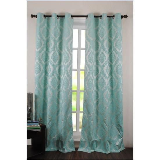 """Curtain Delight 96"""" Light Blue (Curtain)"""