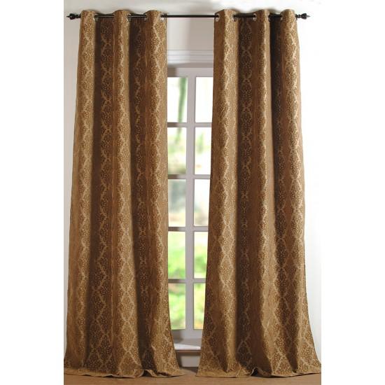 Curtain VIctoria Dark Beige 7ft