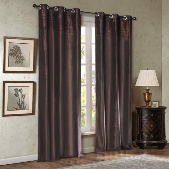 Curtain Hungama Chocolate 9ft