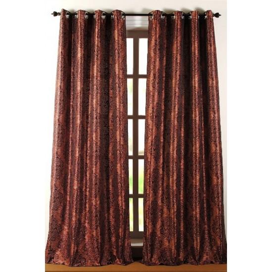 Curtain California Burgundy 8ft