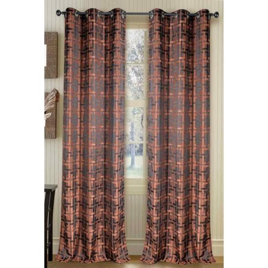 """Curtain Duster Square Antique Copper 90"""""""