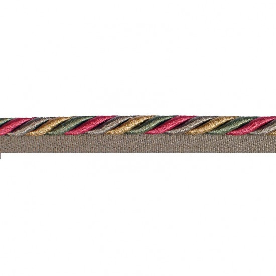 bullion Cord With Lip 8mm
