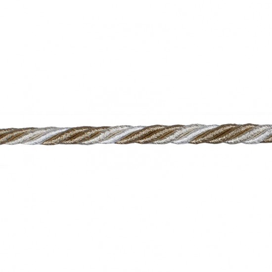 Bullion cord 5mm Ivory/ Beige/Champagne