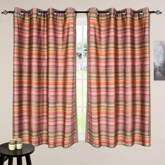 "Curtain Bijuri Burn Rose 60"""