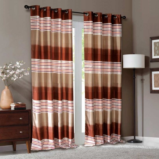 """Curtain Urmila Beige/Terracotta 108"""""""