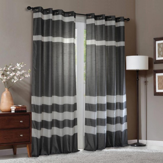 Curtain Vaibhavi Grey 108""