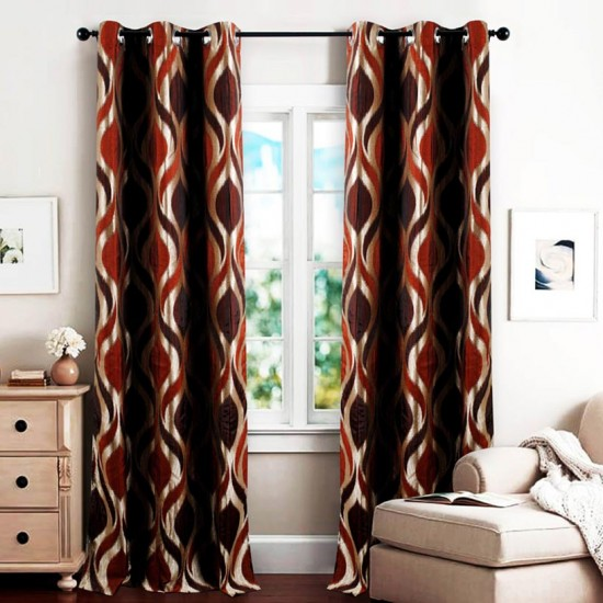 "Curtain Koma 90"" -Terracotta"