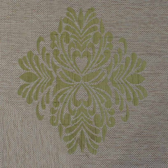 Swatch Jacquard Decor Amber Green