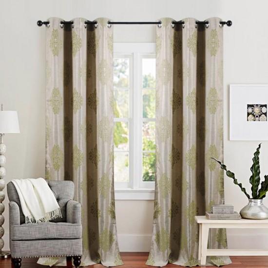 """Curtain Decor 90"""" -Green"""