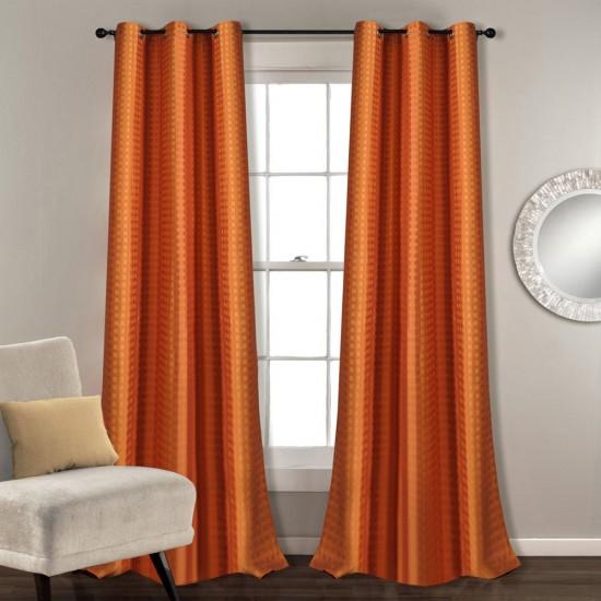 """Single Lining Curtain 46x90"""" Sun Flower Dot Box"""