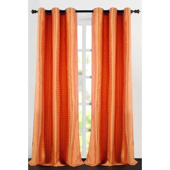 """Single Lining Curtain 46x60"""" Sun Flower Dot Box"""