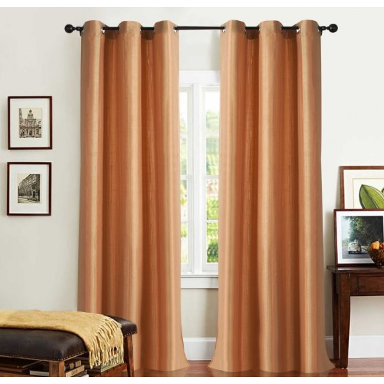 Curtain 3 Tone Stripe Aporang 7.5 ft