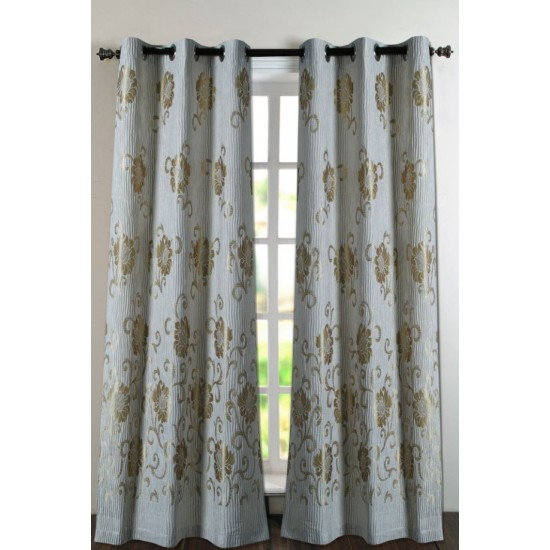 "Curtain Europoly 46""X90"" Light Beige"
