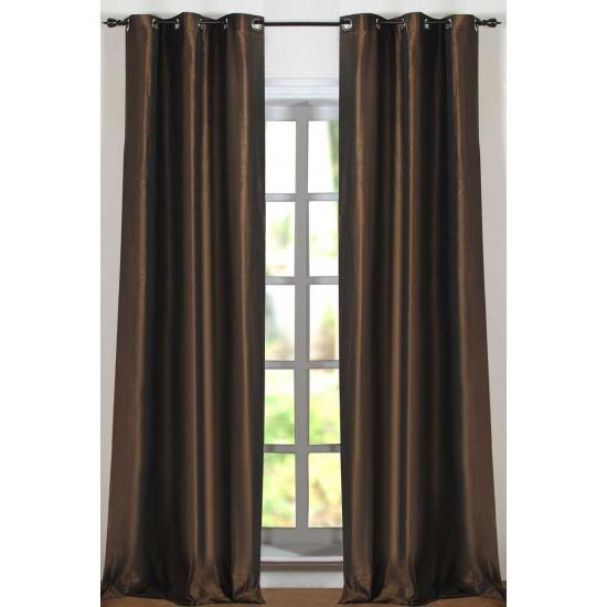 "Solid Hungama Curtain Moss 84"""