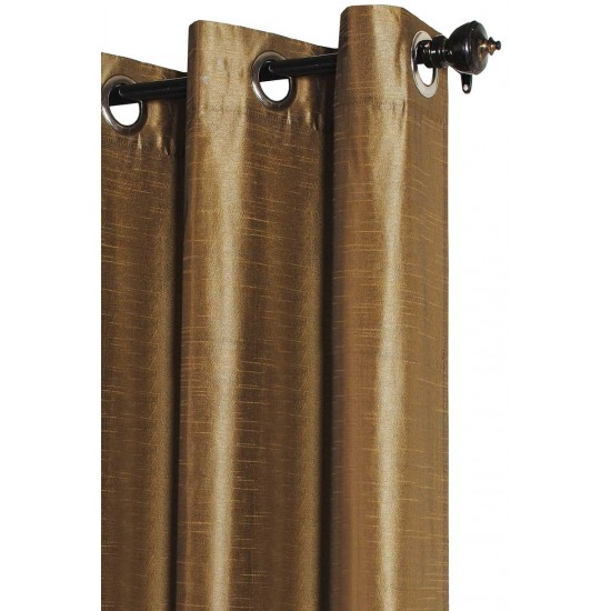 (Set of 2) 5ft Solid Hungama Curtain Royal Sage