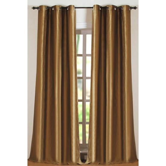 "Curtain Solid Hungama Royal Sage 84"""