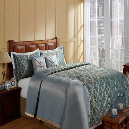 Bedding Marine Set of 5 Light Blue