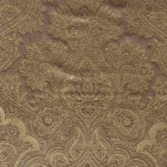 "Fabric JQ CT-83 56"" CHOCO/GOLD"