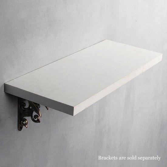 "Deco Home Wall Shelf 25mm White Wash 24"""