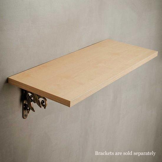 """Wall Shelf 18mm Teak Natural 36"""""""